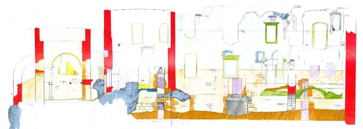 baubeschreibung des palas von rauhenstein. Black Bedroom Furniture Sets. Home Design Ideas