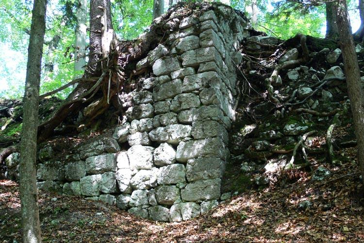 Gutrat-Rossstall: Mauerwerk