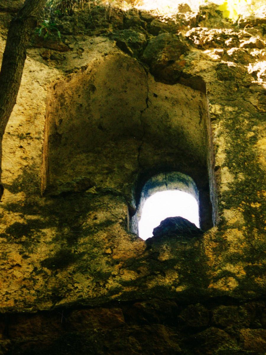 Thernberg: vermauerte Bifore