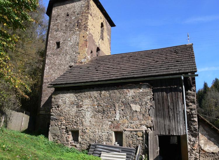 Tollinghof: Südseite