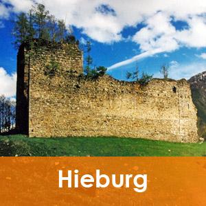 Burgenseite Hieburg