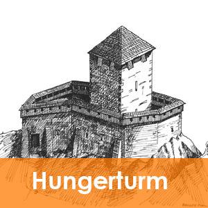 Burgenseite Hungerturm bei Waldstein