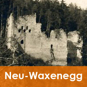 Burgenseite Baubeschreibung Ruine Waxenegg