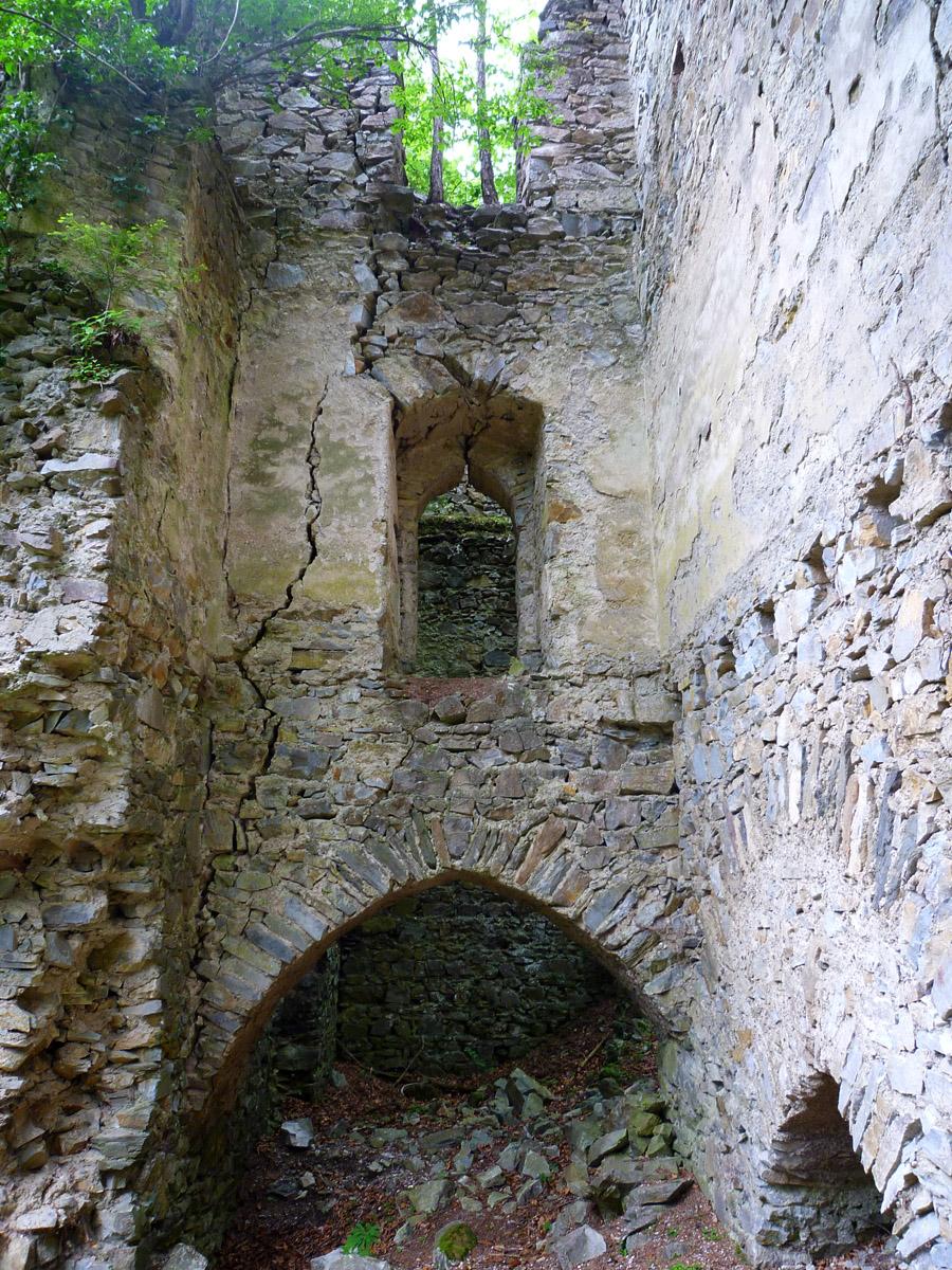 Neu-Waxenegg: Kapelle (1.OG), gegen Westen.