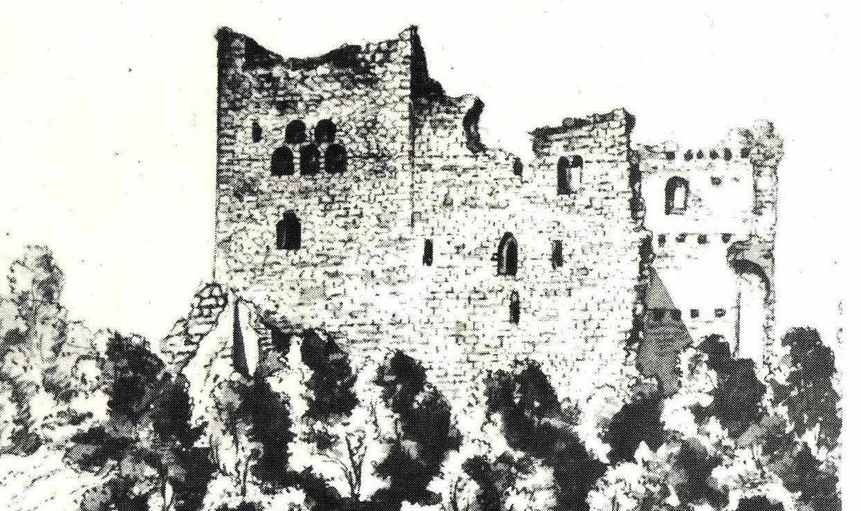 Neu-Waxenegg: Zeichnung Scheiger 1830