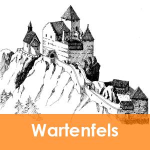 Burgenseite Baubeschreibung Burg Wartenfels