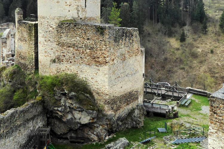 Kollmitz: Schildmauer