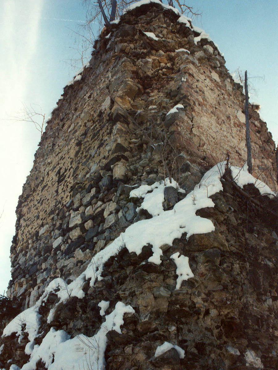 Offenburg: Aussenseite des Wohnturms.