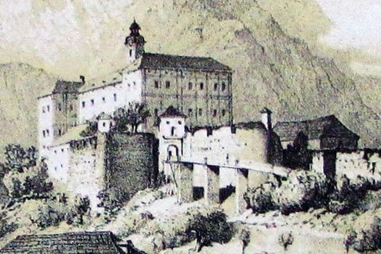 Trautenfels: Darstellung bei Reichert, 1865