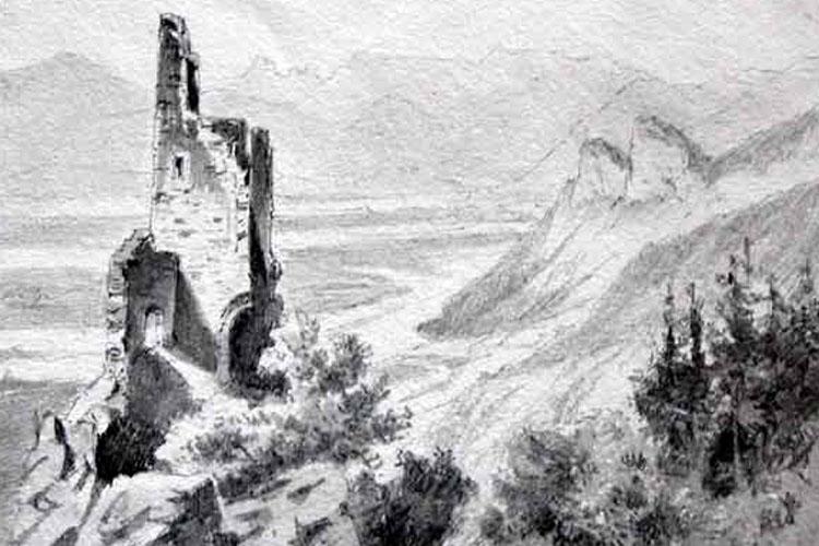 Gutrat: Zeichnung 19. Jahrhundert