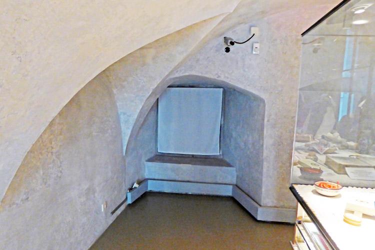 Neuhaus-Trautenfels: Gewölbe im Zwischengeschoss Südtrakt