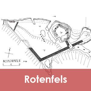 Burgruine Rotenfels im Mühlviertel