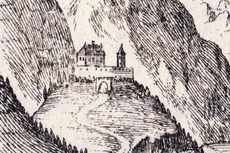 Gross-Sölk: die schwer verständliche Darstellung bei Vischer, um 1690