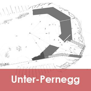 die untere Burg von Pernegg