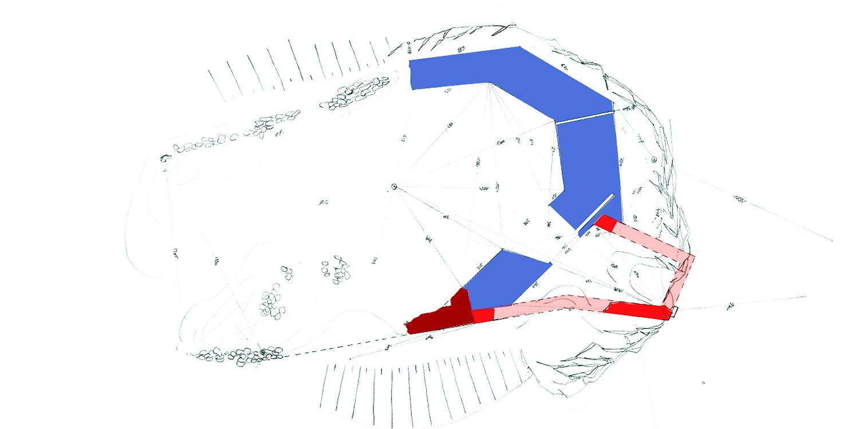 Untere Pernegg: Grundriss und Baualterplan