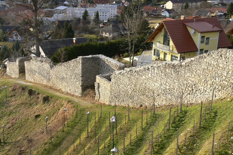 Obervoitsberg: Stadtmauer