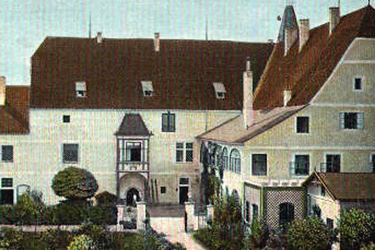 Burg Wels um 1902