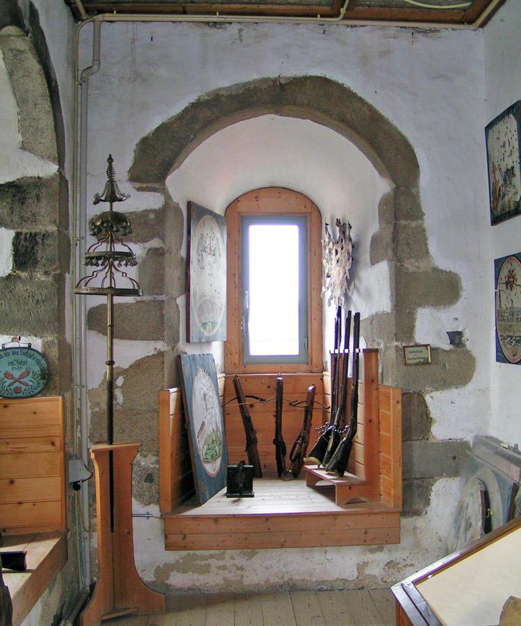 Freistadt: Fensternische in der Türmerstube
