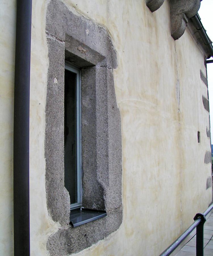 Freistadt: Fenstergewände der Türmerstube
