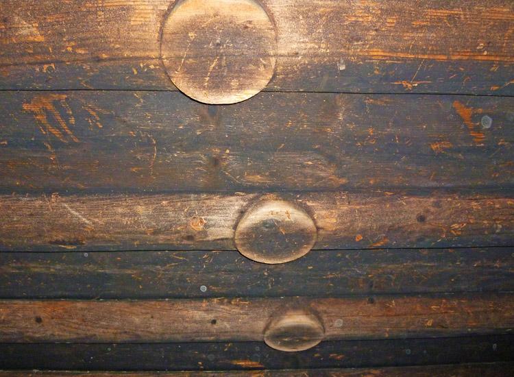 Goldegg: Medaillons an der Holzdecke der großen Stube