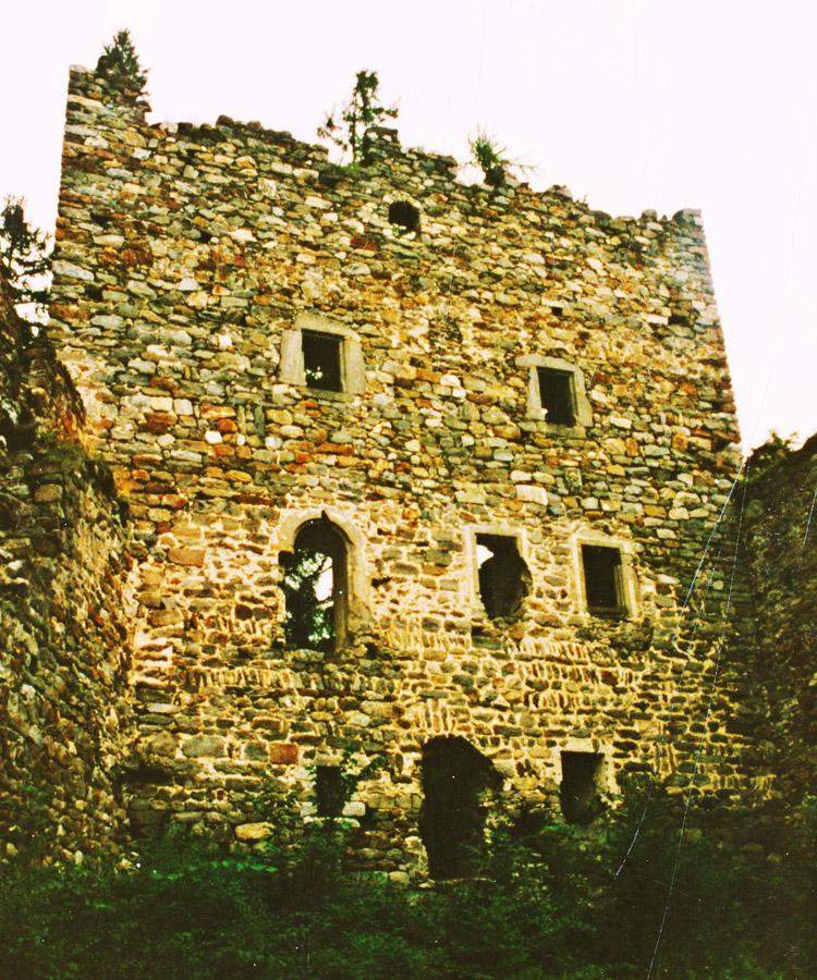Kienburg: Fassade des Festen Hauses (Foto 1999)