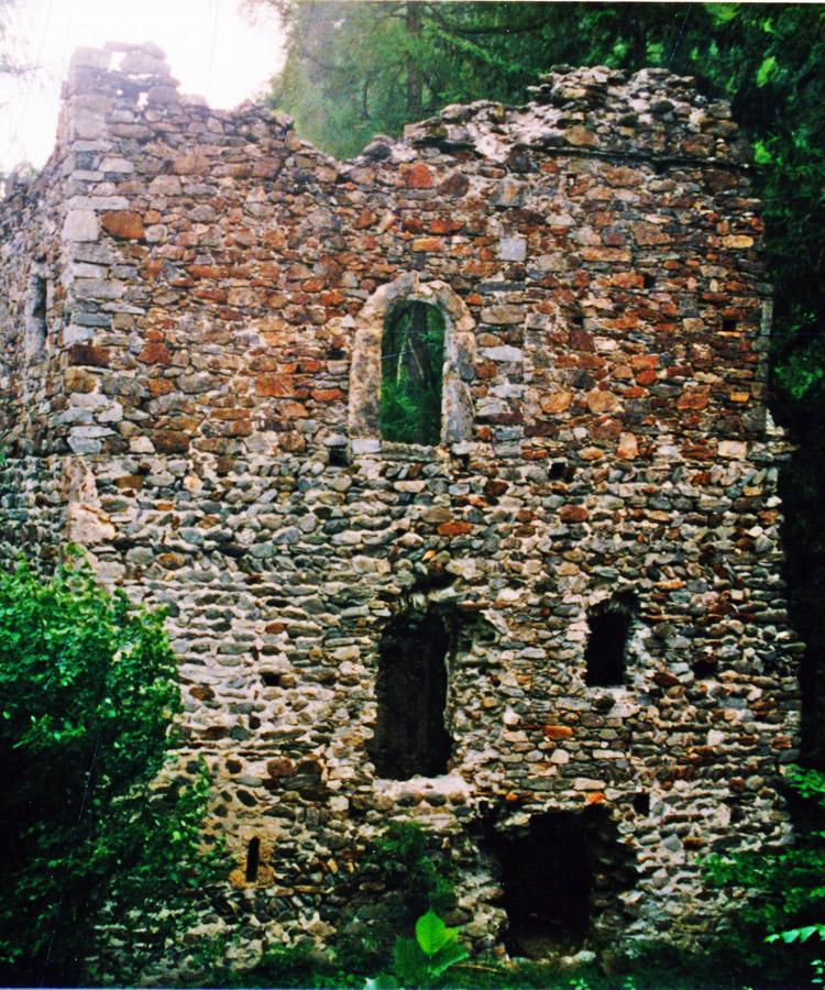 Kienburg: Südtrakt Hofseite (Foto 1999)