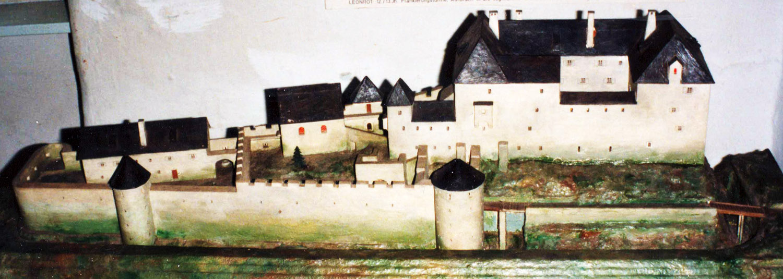 Neu-Leonroth: Modell von Völkl im Burgenmuseum Alt-Kainach