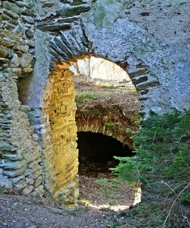 Neu-Leonroth: Portal des Wohnturms