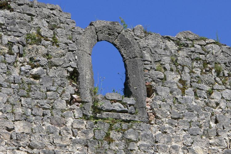 Plainburg: Kapellenfenster