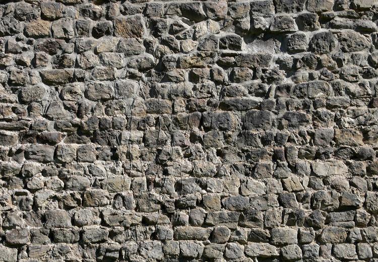 Plainburg: Mauerwerk der Kernburg-Ringmauer
