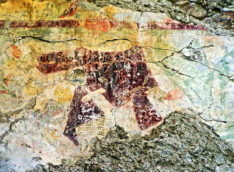 Rabenstein-Virgen: Pfaffenstöckl, Ritter mit Waffenrock und Schwert
