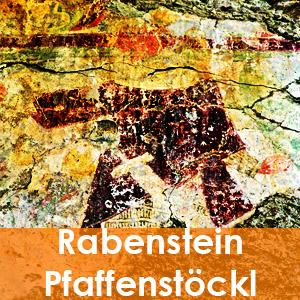 Die Wandmalereien im Pfaffenstöckl auf Burg Rabenstein in Virgen. Osttirol