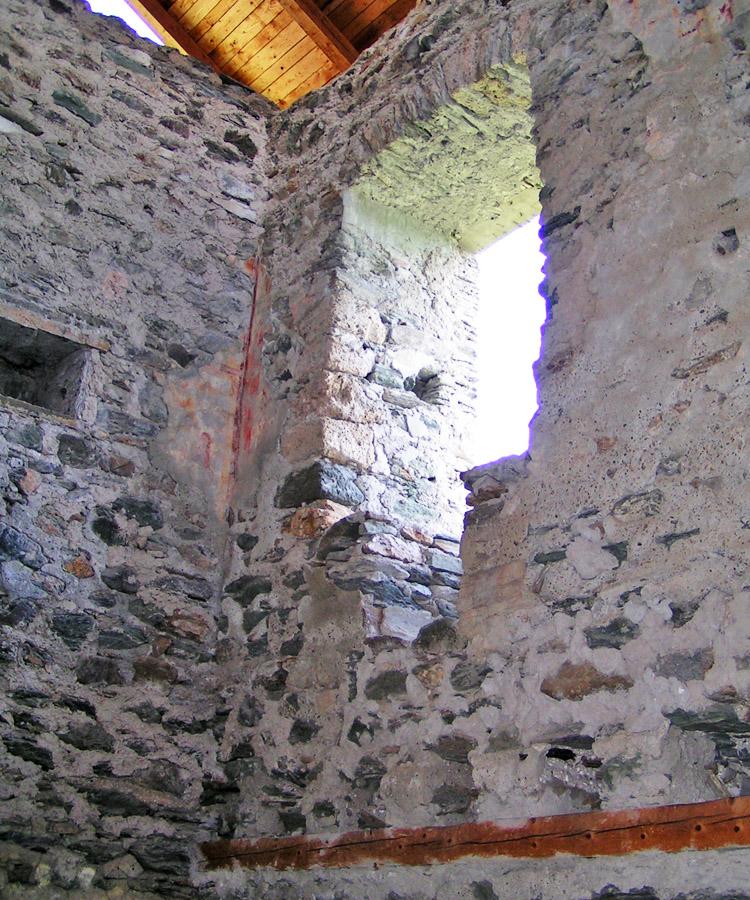 Rabenstein-Virgen: Pfaffenstöckl, Sitznischenfenster im 1. Obergeschoss