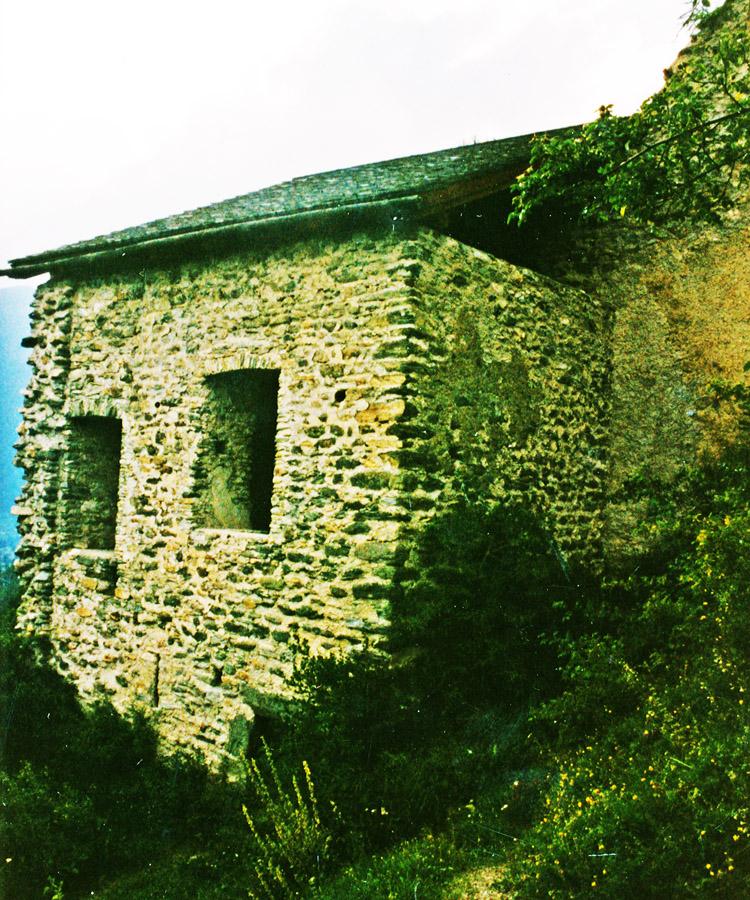 Rabenstein-Virgen: Das Pfaffenstöckl im Jahr 1998