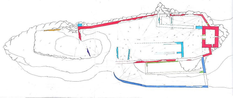 Strassfried: Grundriss und Baualterplan