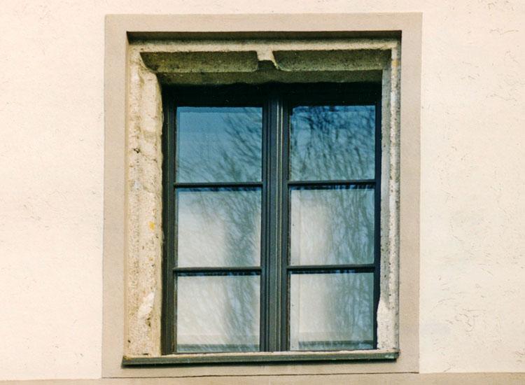 Wels: zweilichtiges Rechteckfenster