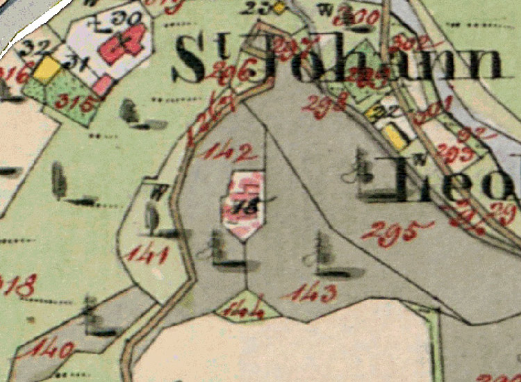 Leobenegg: Franziszeischer Kataster