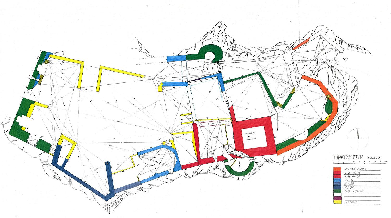 Finkenstein: Grundriss und Baualterplan (2002)