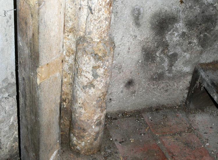 Finkenstein: Gewölbedienst der Burgkapelle