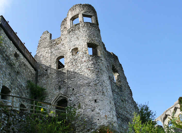 Finkenstein: spätgotischer Torturm