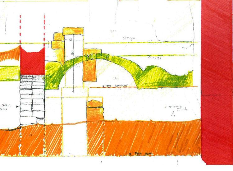 Rauhenstein: Gewölbe verbaut zwei romanische Türen